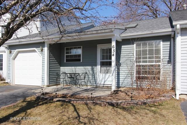 634 Pleasant Place #634, Island Lake, IL 60042 (MLS #09887955) :: Domain Realty
