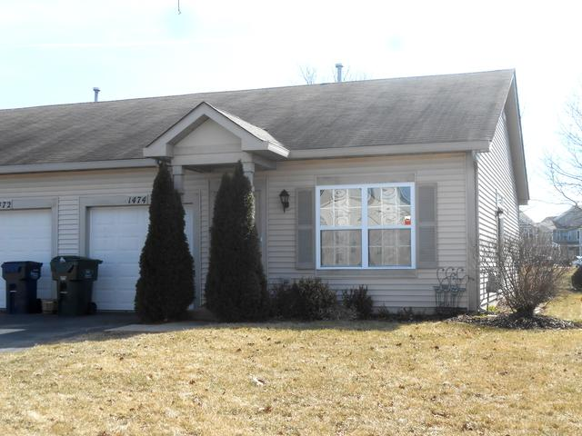 1474 Red Top Lane #1, Minooka, IL 60447 (MLS #09888043) :: Angie Faron with RE/MAX Ultimate Professionals