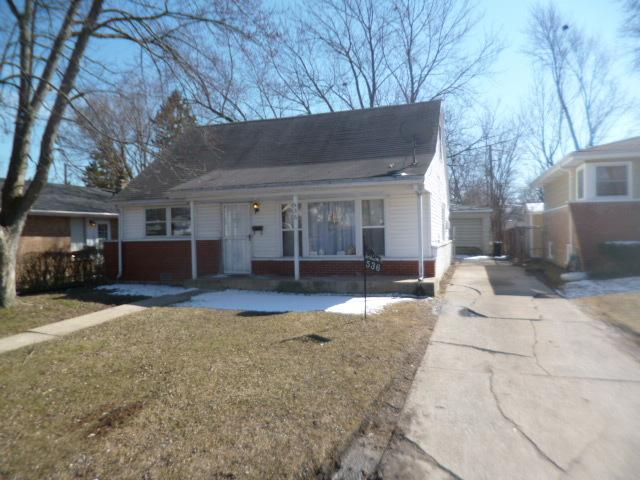 536 W 16th Place, Chicago Heights, IL 60411 (MLS #09888371) :: Domain Realty
