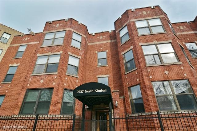 2737 N Kimball Avenue #2, Chicago, IL 60647 (MLS #09889684) :: Property Consultants Realty