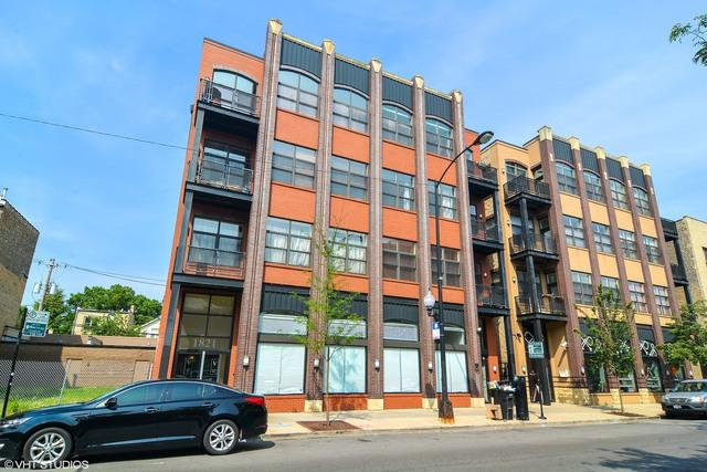 1821 N Milwaukee Avenue #401, Chicago, IL 60647 (MLS #09890262) :: The Perotti Group