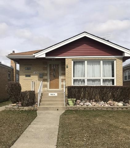 4614 W 87th Street, Chicago, IL 60652 (MLS #09890592) :: Domain Realty