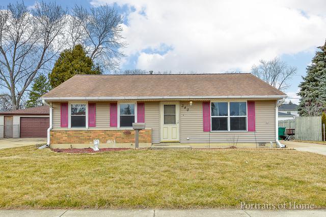 340 Hale Avenue, Romeoville, IL 60446 (MLS #09890981) :: Domain Realty
