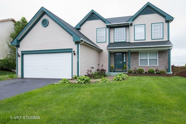 560 Lake Plumleigh Way, Algonquin, IL 60102 (MLS #09891486) :: Lewke Partners