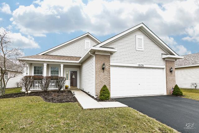 1608 Benzie Circle, Romeoville, IL 60446 (MLS #09906437) :: Lewke Partners