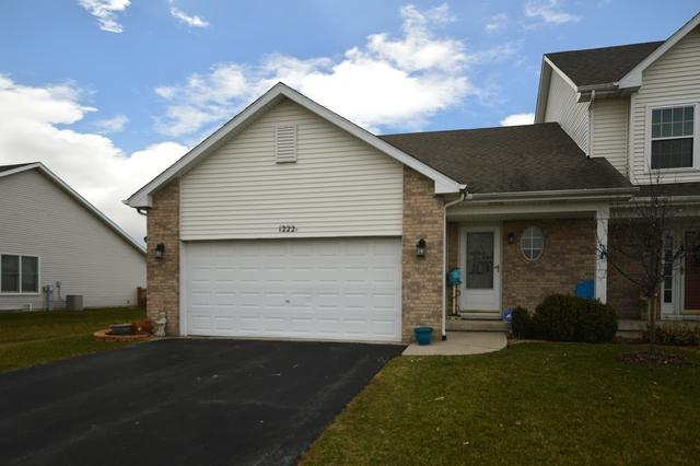 1222 Glen Mor Drive A, Shorewood, IL 60404 (MLS #09915583) :: The Wexler Group at Keller Williams Preferred Realty