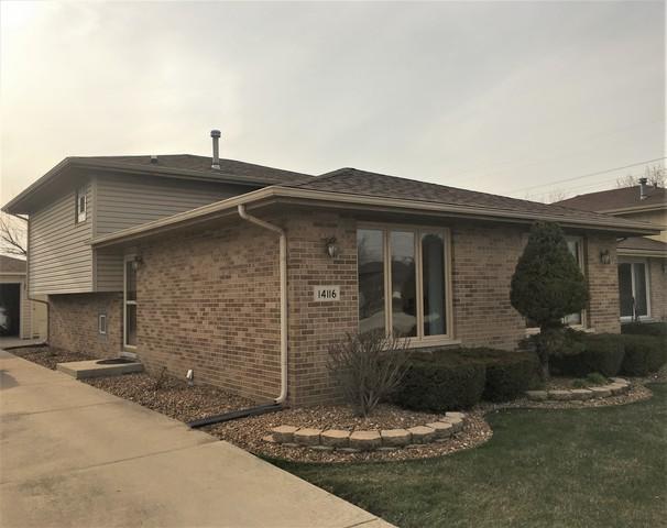 14116 Kenneth Court, Crestwood, IL 60418 (MLS #09916490) :: Lewke Partners