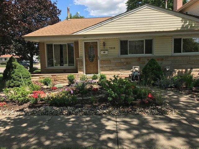5849 Emerson Street, Morton Grove, IL 60053 (MLS #09920040) :: Helen Oliveri Real Estate
