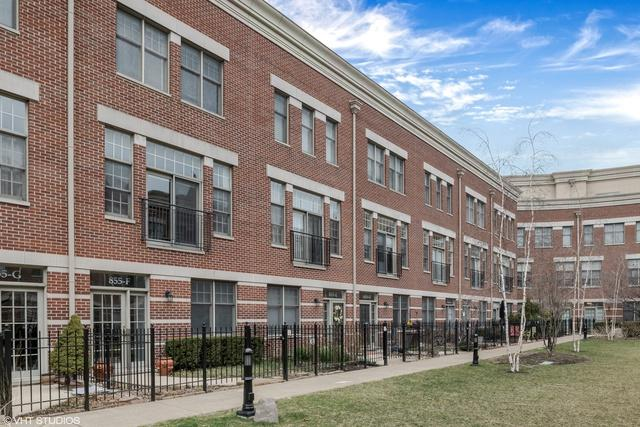 855 N May Street F, Chicago, IL 60642 (MLS #09921587) :: Baz Realty Network | Keller Williams Preferred Realty