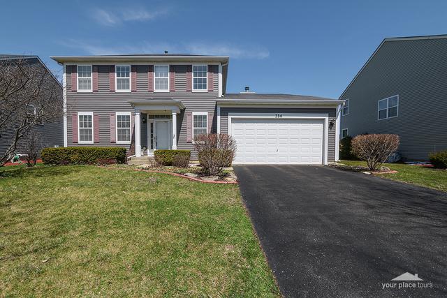 314 Kensington Drive, Oswego, IL 60543 (MLS #09922672) :: The Dena Furlow Team - Keller Williams Realty