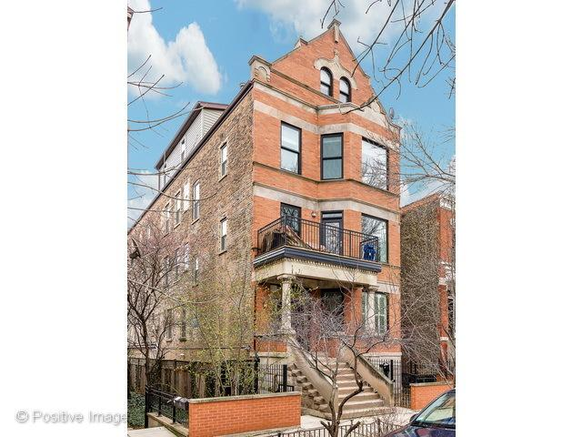 1927 N Honore Street 3A, Chicago, IL 60622 (MLS #09922905) :: Lewke Partners