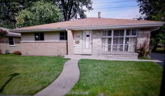 7316 Arcadia Street, Morton Grove, IL 60053 (MLS #09923365) :: Helen Oliveri Real Estate