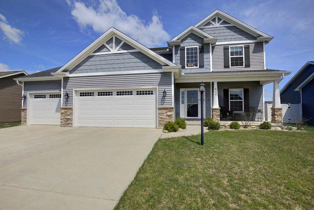 408 London Way, Savoy, IL 61874 (MLS #09923455) :: Ryan Dallas Real Estate