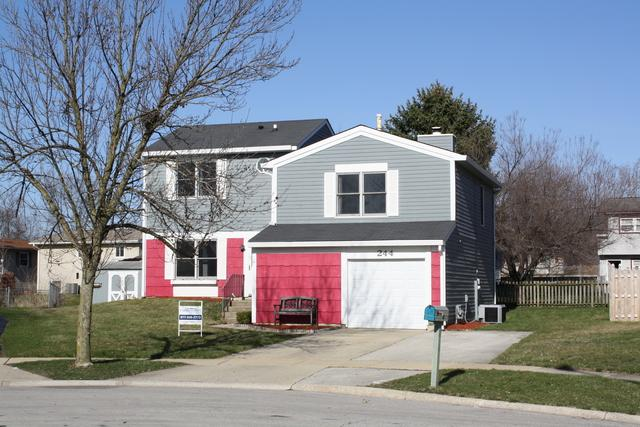 244 N Lancaster Drive, Bolingbrook, IL 60440 (MLS #09924037) :: The Dena Furlow Team - Keller Williams Realty