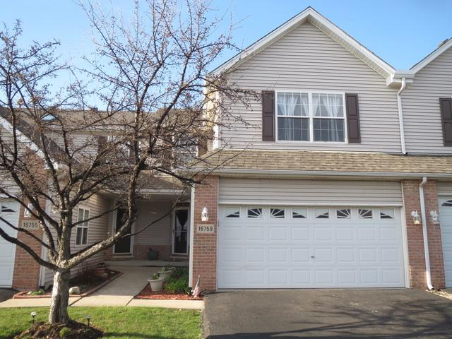 16759 S Sunset Ridge Court #1675, Lockport, IL 60441 (MLS #09924184) :: The Dena Furlow Team - Keller Williams Realty