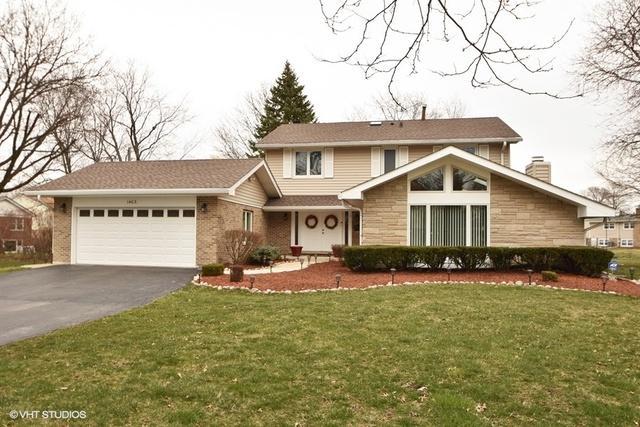 1403 Berry Lane, Flossmoor, IL 60422 (MLS #09924875) :: Lewke Partners
