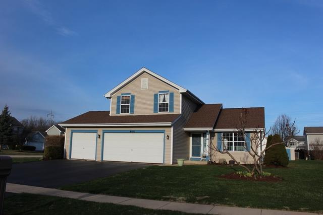 406 Brynwood Lane, Belvidere, IL 61008 (MLS #09925103) :: Lewke Partners