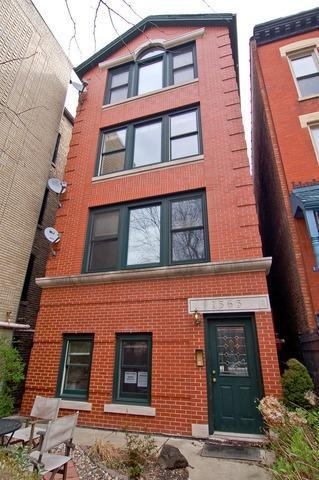 1565 N Hoyne Avenue #3, Chicago, IL 60622 (MLS #09925864) :: The Perotti Group