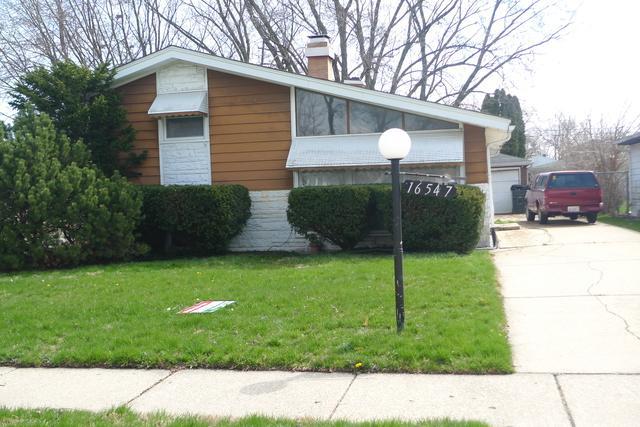 16547 Paulina Street, Markham, IL 60428 (MLS #09926921) :: Lewke Partners