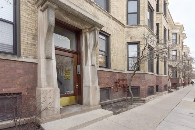 737 W Wellington Avenue #2, Chicago, IL 60657 (MLS #09927634) :: Property Consultants Realty