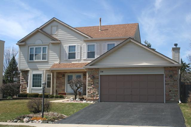 54 Magnolia Drive, Streamwood, IL 60107 (MLS #09927857) :: The Schwabe Group
