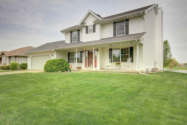 1500 Locust Drive, ST. JOSEPH, IL 61873 (MLS #09950382) :: Ryan Dallas Real Estate