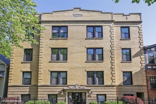1744 W Henderson Street #3, Chicago, IL 60657 (MLS #09953732) :: Property Consultants Realty