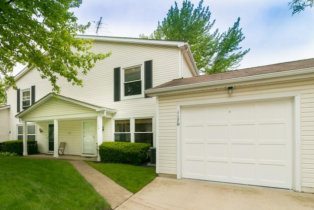 1170 E Greenbriar Lane 13A, Palatine, IL 60074 (MLS #09960317) :: The Jacobs Group