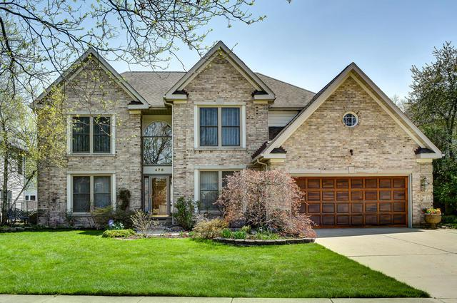 478 Thorndale Drive, Buffalo Grove, IL 60089 (MLS #09960841) :: The Schwabe Group