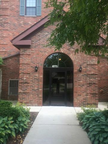671 Hapsfield Lane #301, Buffalo Grove, IL 60089 (MLS #09961156) :: The Schwabe Group
