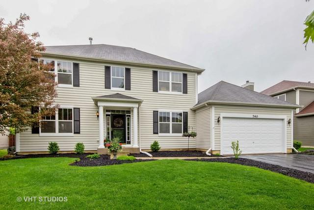 740 Charismatic Drive, Oswego, IL 60543 (MLS #09963331) :: Angie Faron with RE/MAX Ultimate Professionals