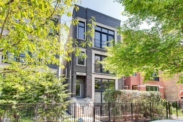 859 N Paulina Street #2, Chicago, IL 60622 (MLS #09963348) :: The Saladino Sells Team