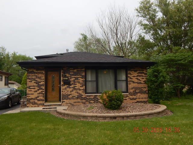 127 N Rebecca Street, Glenwood, IL 60425 (MLS #09973007) :: The Dena Furlow Team - Keller Williams Realty