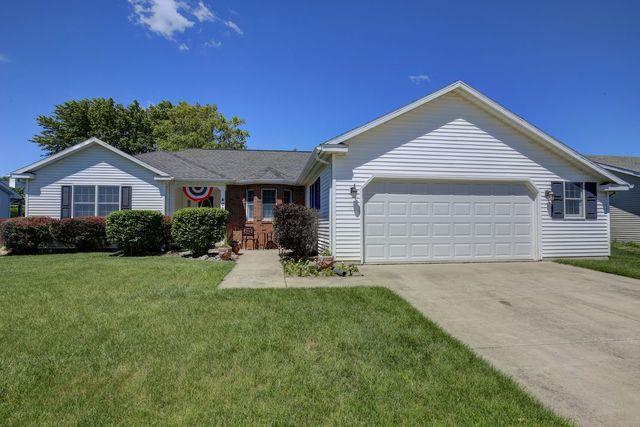 409 Sherwood Drive, ST. JOSEPH, IL 61873 (MLS #09974377) :: Ryan Dallas Real Estate
