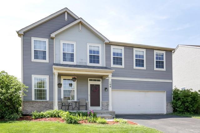 108 E Meadow Drive, Cortland, IL 60112 (MLS #09976997) :: Ani Real Estate