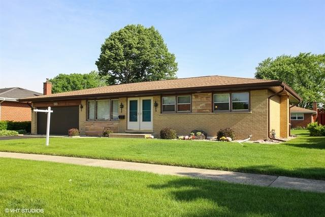 593 Welter Drive, Wood Dale, IL 60191 (MLS #09977520) :: Lewke Partners