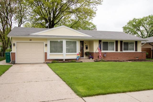 34 Evergreen Street, Elk Grove Village, IL 60007 (MLS #09978934) :: Lewke Partners