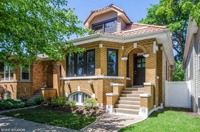 4902 W Carmen Avenue, Chicago, IL 60630 (MLS #09985388) :: Lewke Partners