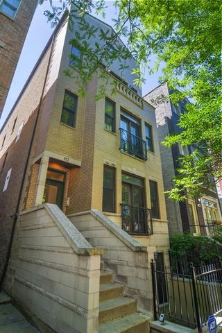 932 N Wood Street #3, Chicago, IL 60622 (MLS #09986376) :: Property Consultants Realty