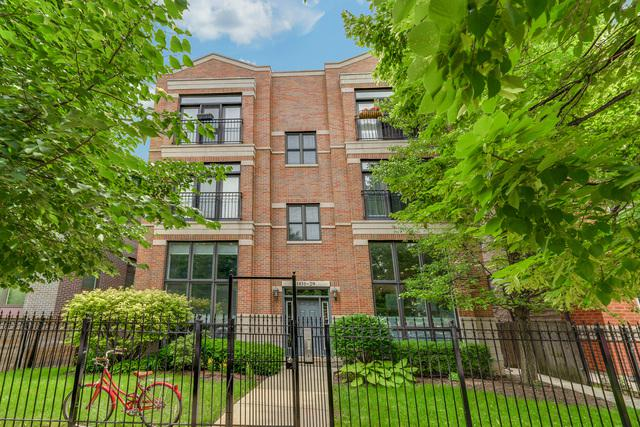 1831 N Fairfield Avenue 3N, Chicago, IL 60647 (MLS #09986438) :: Property Consultants Realty