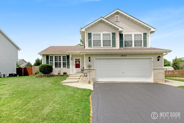 1903 Harvest Lane, Plainfield, IL 60544 (MLS #09988217) :: The Wexler Group at Keller Williams Preferred Realty
