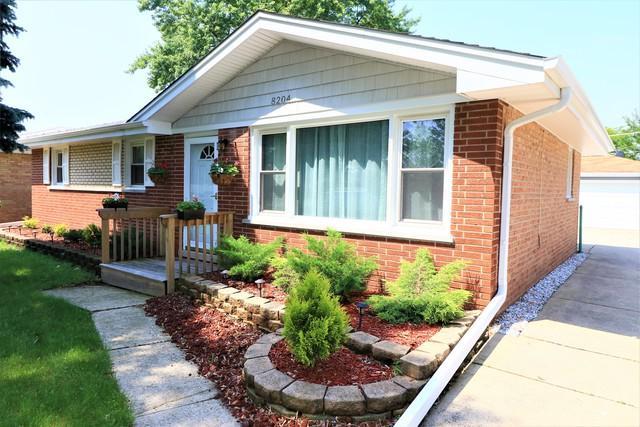 8204 S Ferdinand Avenue, Bridgeview, IL 60455 (MLS #09988245) :: The Dena Furlow Team - Keller Williams Realty