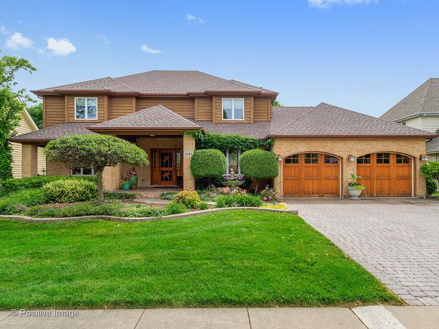 1047 Parkview Circle, Carol Stream, IL 60188 (MLS #09988654) :: Ani Real Estate
