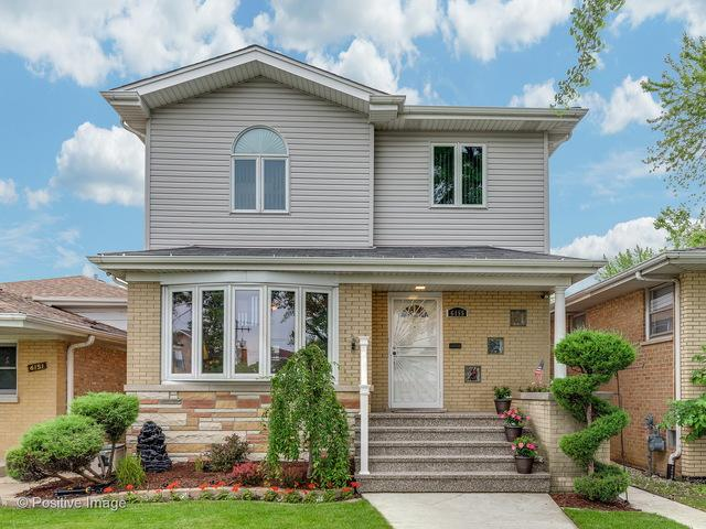 6155 S Rutherford Avenue, Chicago, IL 60638 (MLS #09990565) :: The Dena Furlow Team - Keller Williams Realty