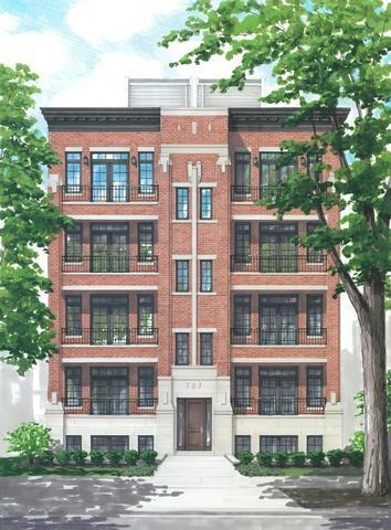 711 W Buckingham Place 1W, Chicago, IL 60657 (MLS #09990904) :: Baz Realty Network | Keller Williams Preferred Realty