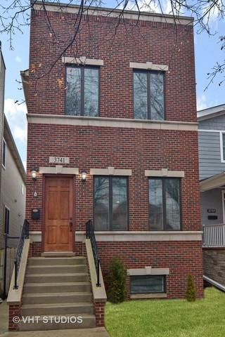 3741 N Ridgeway Avenue, Chicago, IL 60618 (MLS #09991338) :: The Dena Furlow Team - Keller Williams Realty