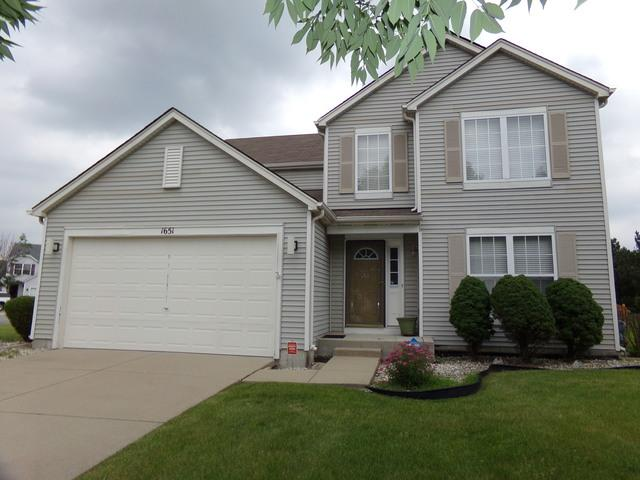 1651 Amaryllis Drive, Romeoville, IL 60446 (MLS #09992361) :: The Wexler Group at Keller Williams Preferred Realty