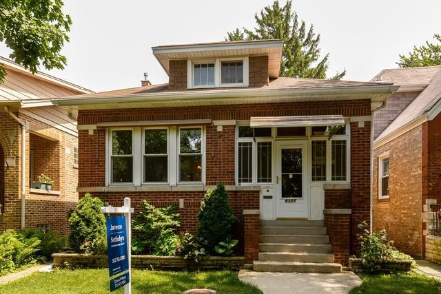 6327 W Raven Street, Chicago, IL 60646 (MLS #09993086) :: Ani Real Estate