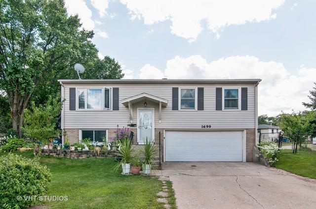 1699 Tanglewood Avenue, Hanover Park, IL 60133 (MLS #09994484) :: Ani Real Estate