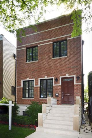 4220 N Mozart Street, Chicago, IL 60618 (MLS #09994580) :: Ani Real Estate